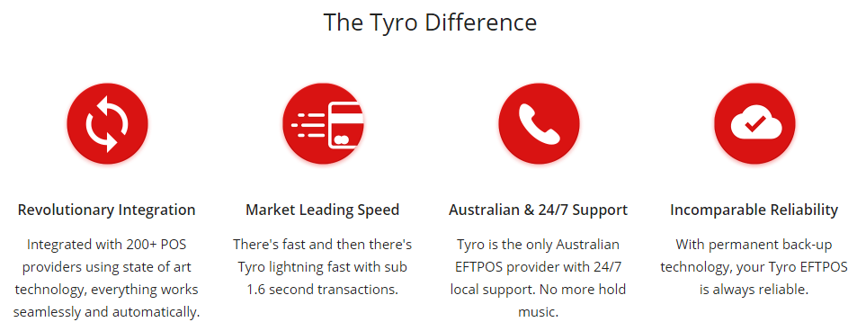 The Tyro Difference